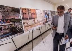 ممرٌّ مرئيّ للعتباتِ المقدّسة في العراق يخترقُ مبنى الأمم المتّحدة في نيويورك