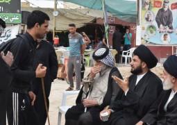 الحوزة العلمية في النجف الأشرف/ الشعائر الدينية/ التبليغ الحوزوي في زيارة الأربعين