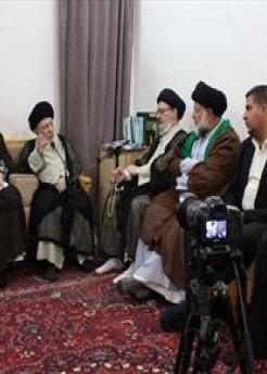 المرجع السيد الحكيم يدعو الباحثين لدراسة النهضة الحسينية وأبعادها العقائدية وأهدافها السامية