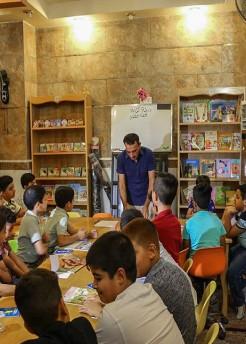 من مرقد الامام الحسين.. انطلاق مشروع اعداد 1000 كاتب للاطفال في عموم العراق