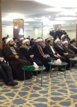 معهد القرآن الكريم يقيم في النجف الأشرف حفلا ختاميا للمشروع القرآني لطلبة العلوم الدينية.
