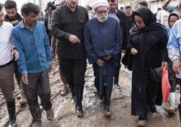 العتبة الرضوية المقدسة تقدم مساعدات لمتضرري الفيضانات في إيران