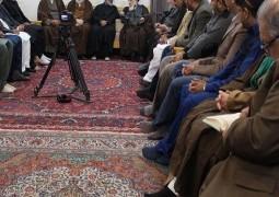 سماحة المرجع الديني السيد الحكيم (مد ظله ) يستقبل مجموعة من أساتذة جامعات باكستان، ويوصي بالمودة والتسامح والتعاون بعيدا عن المشاحنات والتشنجات