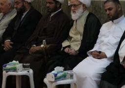 طلبة واساتذة الحوزة العلمية يقيمون مجلساً عزائياً في الذكرى ال39 لشهادة المرجع الشهيد محمد باقر الصدر (قدس)