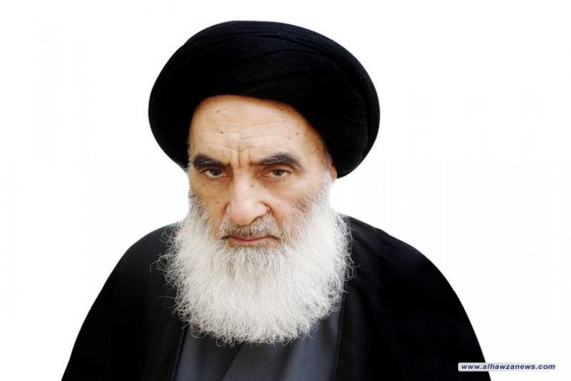 السيد السيستاني: يدعو لزائري الإمام الحسين(عليه السلام) أن يتقبّل الله منهم الزيارة بأفضل ما يتقبّل به عملَ عباده الصالحين