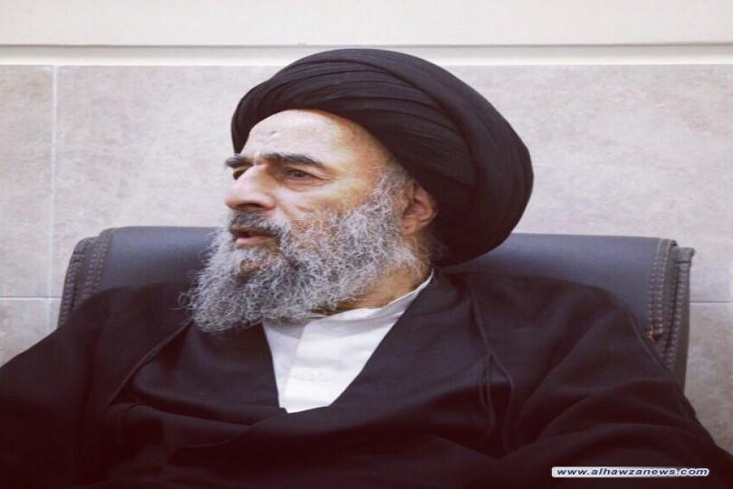 آية الله المدرسي يدعو لتظافر الجهود للحاق بمسيرة النهضة الحسينية