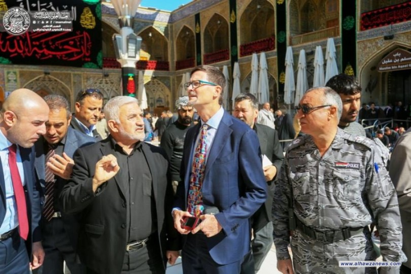 السفير الكندي الجديد في العراق : الإمام علي رمزٌ للإنسانية