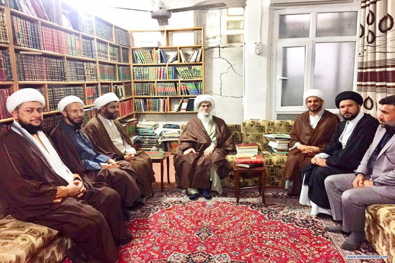 مركز الإمام الصادق (ع) للدراسات والبحوث الاسلامية التخصصية في ضيافة سماحة المرجع الواعظي (دام ظله)