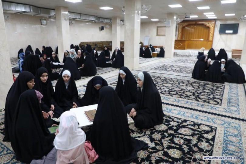 معهد الكوثر القرآني النسوي في العتبة العلوية يواصل دوراته القرآنية لأحكام التلاوة وحفظ القرآن الكريم