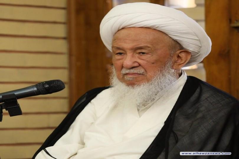 سماحة المرجع الديني الشيخ الفياض (دام ظله )يستأنف درسه من السبت المقبل بعد تحسن صحته