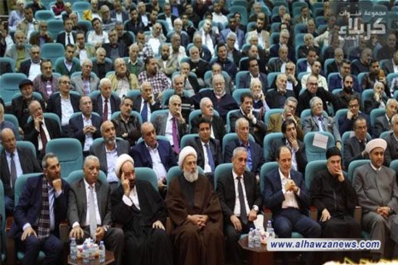 ممثلية المرجع السيد علي السيستاني دام ظله في بيروت تقيم مهرجان الصادقين الشعري الخامس.