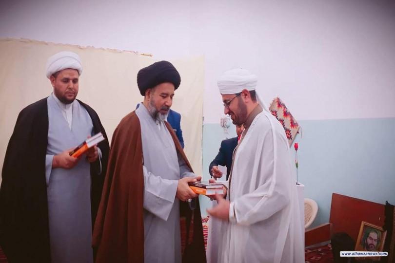 ممثلية مكتب المرجع اليعقوبي في الرميثةيقيم حفلا ومحفلاً قرآنياً بذكرى الولادات الميمونة