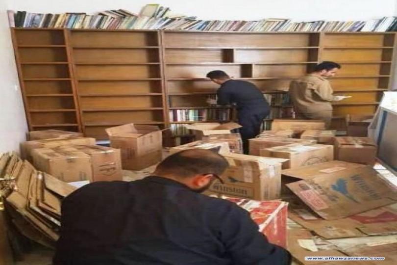 مكتبة الروضة الحيدرية تتسلم المكتبة الشخصية للشاعر والأديب المرحوم السيد محمد حسين غيبي