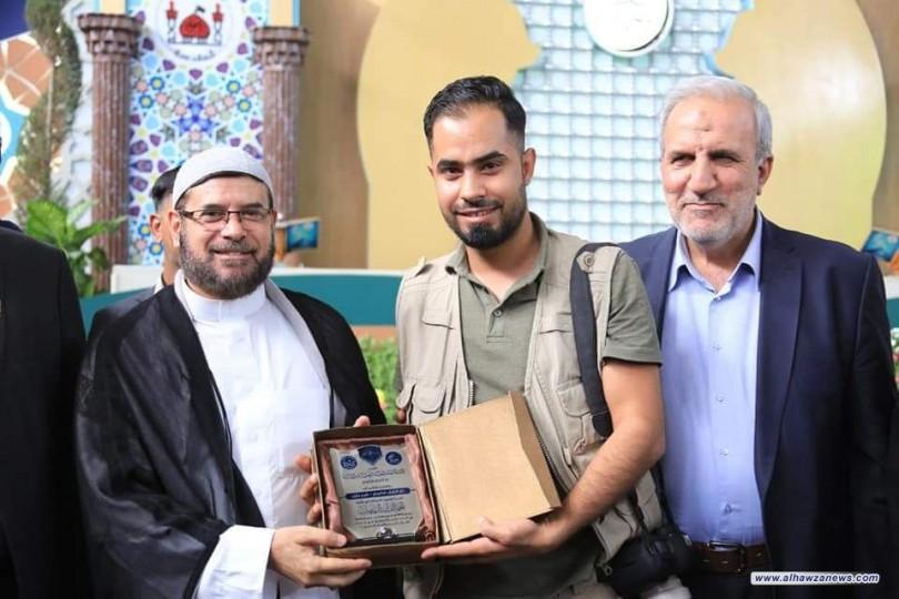 دار القرآن الكريم تحتفي بقراء الختمة القرآنية في الصحن الحسيني