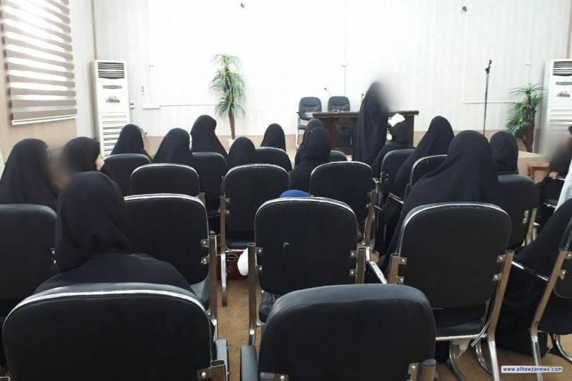 اقامت جامعة الزهراء (ع) وبالتعاون مع مركز البيت السعيد دورة في مفاتيح السعادة الزوجية