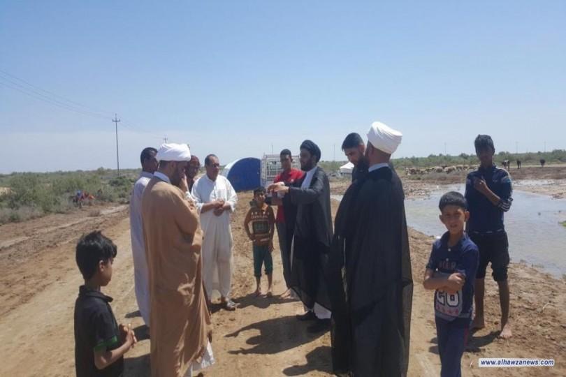 مؤسسة فيض الزهراء تتوجه إلى محافظة ميسان لإغاثة المناطق المتضررة من جراء السيول