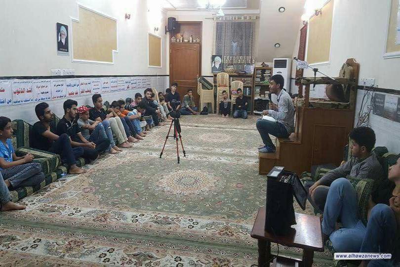 ملتقى العلم والدين في بغداد يقيم جلسة إستقبال وإحياء
