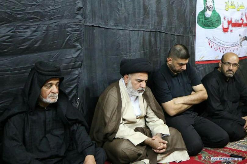 مكتب المرجعية يزور مواكب العزاء الحسيني