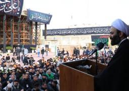 """الأمانة العامة للعتبة العسكرية المقدسة تكرم الهيئات التطوعية المشاركة في زيارة الامام الهادي """"عليه السلام"""