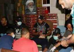 مؤسسة فيض الزهراء في واسط تنظم حملة لتوزيع اكثر من 1500 سلة غذائية