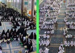 آلاف الطلبة والطالبات ينهلون من معين القرآن الكريم في الحرم الحسيني الشريف