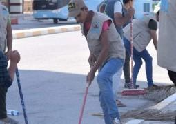 الحملة الوطنية الثانية التي يطلقها تجمع فتية أمير المؤمنين (ع) لتنظيف شوارع الكوفة العلوية