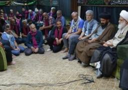 المرجع اليعقوبي يدعو الى توثيق الأواصر مع الشعب الكردي في دول المنطقة والعالم