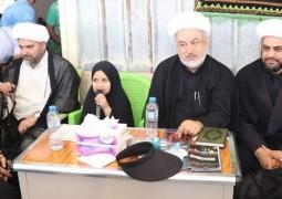 مكتب المرجع اليعقوبي يختتم الخدمة الحسينية بمنفذ الشلامجة الحدودي لمناسبة ألاربعين