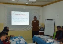 ممثلية المرجع  اليعقوبي دام ظله في نينوى تنظم ورشة تدريبية لمجموعة من طلبة الاقسام الداخلية
