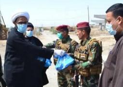 مكتب المرجع اليعقوبي في ذي قار يجهّز وجبات غذائية للقوات الأمنية وقسم الحجر الصحي.