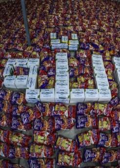 اللجنة المشرفةعلى مكاتب المرجع اليعقوبي ( دام ظله)في المحافظات تكشف عن حملات توزيع عشرات الالاف من السلات الغذائية في ظل اجراءات حظر التجوال .