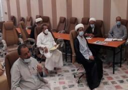 جامعة باقر العلوم الدينية في بغداد الرصافة تعقد اجتماعا تناقش فيه الوضع الدراسي الجديد