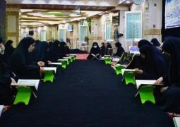 وحدة التعليم القراني تنظم برنامج يومي لزائري الاربعين