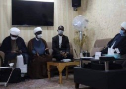 مكتب المرجع اليعقوبي في مشهد يستقبل وفداً حوزوياً من الاتحاد الافريقي