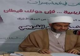 محور عن خطوات الشيطان في ندوة اخلاقية ينظمها مكتب المرجع اليعقوبي في سوريا