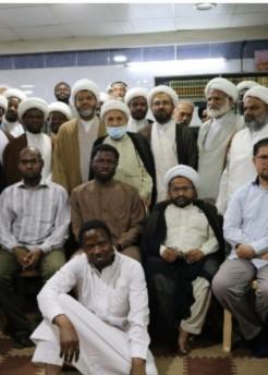 موفد مكتب المرجع اليعقوبي يلتقي بالجالية الاجنبية من طلبة العلوم الدينيّة في سوريا