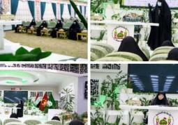دار القرآن الكريم في العتبة الحسينية المقدسة تنظم ندوة علمية قرآنية نسوية