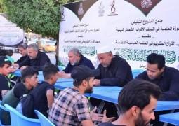 أكثرُ من 120 أستاذًا يشاركون في مشروع تعليم القراءة الصحيحة للزائرين في بابل