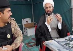 مكتب المرجع اليعقوبي في بغداد يجهز 60 موكباً خدمياً وثقافياً