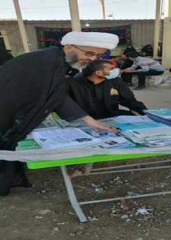 مكتب المرجع اليعقوبي في البصرة يقدم خدماته لزوار الأربعين الوافدين من الجمهورية الإسلامية الإيرانية