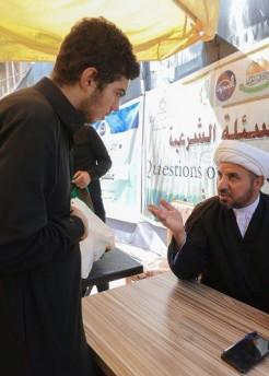 المشروع التبليغي...نشر 18 محطة تبليغية خلال زيارة الإمام الحسن العسكري (عليه السلام)