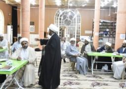 """مكتب المرجع اليعقوبي """"دام ظله """" في البصرة يقيم دورة تدريبية تطويرية لائمة المساجد والحسينيات"""