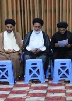 جامعة باقر العلوم ع الدينية في واسط تحتفي بتخرج طلبتها