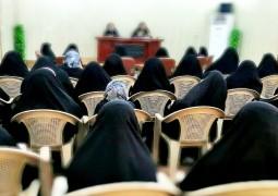 جامعة الكوثر النسوية للعلوم الدينية توضح اوجه  الشبه بين المرجعية والمعصوم (ع)