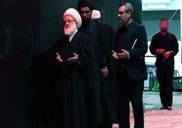 المرجع اليعقوبي يقف مؤبناً عند موضع ارتقاء شهداء ركضة طويريج