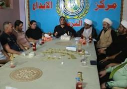 تفعيلاً لأربعينية الفرج  قراءة في معالم النهضة الحسينية في ندوة فكرية  لمؤسسة الابداع التربوي في مدينة الصدر