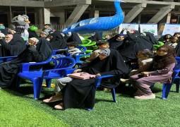 متنزه الشراع في النجف الأشرف يشهد افتتاح فعاليات ثقافية وتوعوية