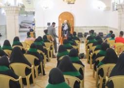 قسم الشؤون الدينية في العتبة العلوية يستضيف كوكبة من طلبة كلية الطب في جامعة ذي قار