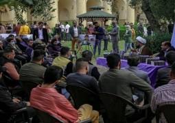 بعد انقطاع دام عدة اشهر مخيم اقرأ الثقافي يستأنف نشاطاته في ساحة القشلة ببغداد