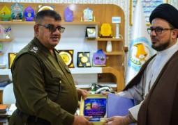 مكتب المرجع اليعقوبي يهنئ قيادة شرطة الديوانية بمناسبة التاسع من كانون الثاني عيد تأسيس الشرطة